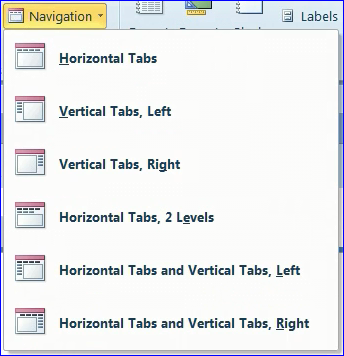 form in ms nav