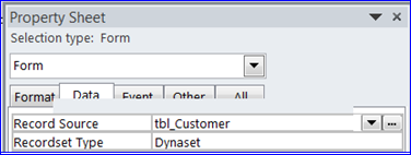 Create Search Form using VBA : MS Access - iAccessWorld com