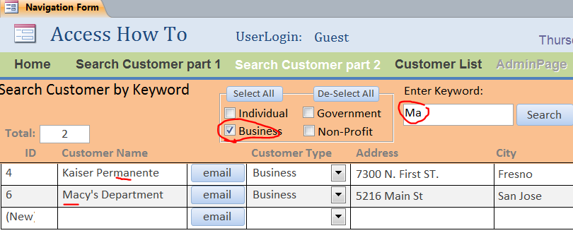 How to add lookup fields in a Microsoft Access table