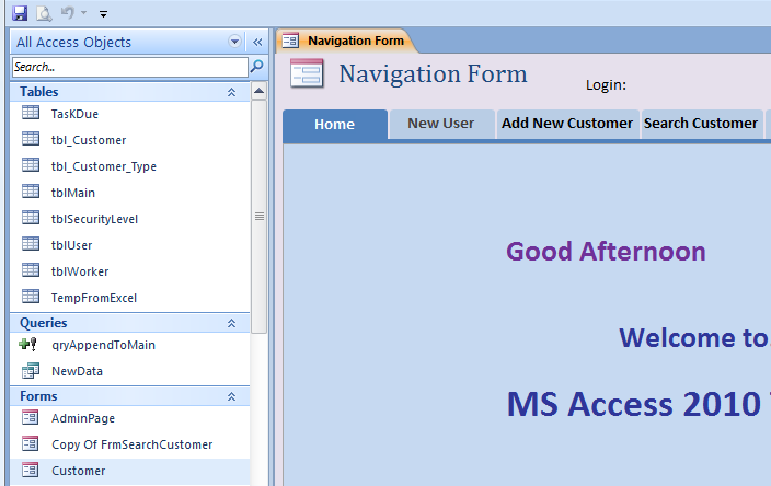 How to Hide Navigation Pane in Access - iAccessWorld.com