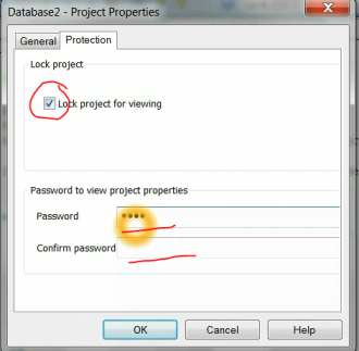 How to Set Access VBA Password