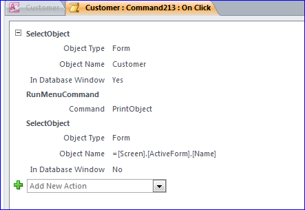 How to Print Form in MS Acccess - iAccessWorld com