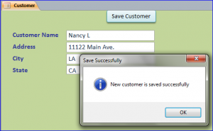 save successfully