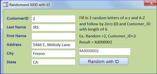 how to create a random letter and number - iaccessworld