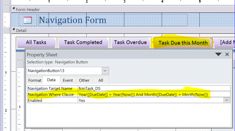 How to Use Navigation Where Clause