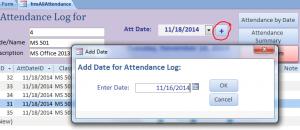 add date to att