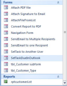 form attach in outlook