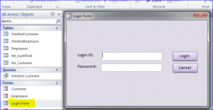 audit login