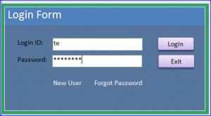 password as password