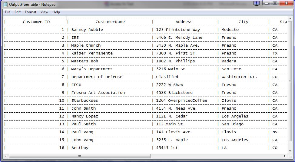 MS Access Vs Text File - iAccessWorld com