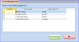 send message form