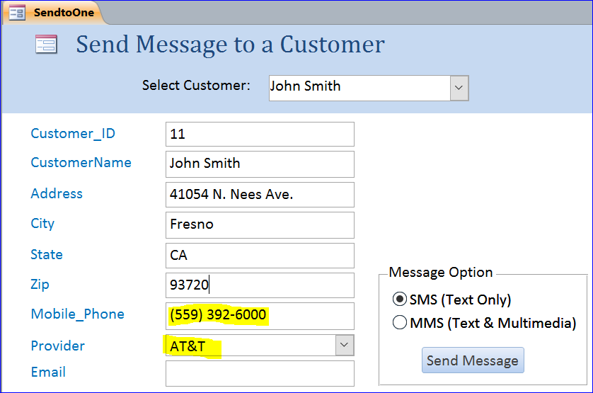 Send SMS/MMS without Service Provider - iAccessWorld com