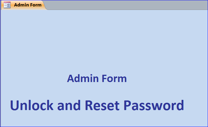 Unlock or Reset Password with Security Code - iAccessWorld com